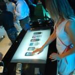 Mesa Touch Alcatel Feria Movistar Conecta 2010