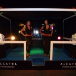 Stand Alcatel Lanzamiento Comercial Entel 2011